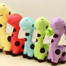 Cartoon Plush Giraffe Sika Deer Stuffed Toys Kids