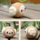 Poke Poke Fun DIY Sheep DIY Plush Phone Chain