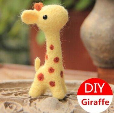 Poke Poke Fun DIY Giraffe DIY Plush Phone Chain