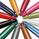 12 Colors Eye Shadow Eyeliner Lip Liner Pen Set