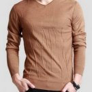 Fashion Casual Wool V-Neck Men Sweater Pullover Knitwear