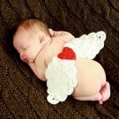 Baby Infant Wing Crochet Costume Photography Prop Clothes