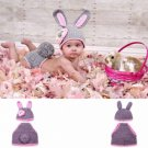 Baby Infant Rabbit Crochet Costume Photography Prop Clothes