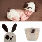 Baby Infant Dog Crochet Costume Photography Prop Clothes