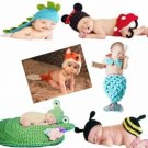 Baby Costume Photography Prop Crochet Hat Cap Knit Beanie Toddler