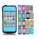 PC Waterproof Shockproof DirtProof Snow Proof Case For iPhone 4 4S