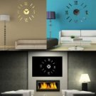 Roman Digital DIY Wall Art Home Decoration Wall Clock