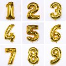 Digital Foil Gold Balloons Party Wedding Decoration Birthday Balloon