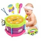 Baby Two-side Drum Musical Instruments Kids Drum Set Children Toy