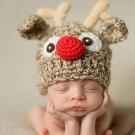 Baby Children Elk Wool Cap Photo Photography Prop