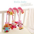 Baby Crib Rattle Hanging Musical Toys Car Pram Gifts