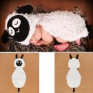 Baby Infant Sheep Crochet Costume Photography Prop Clothes
