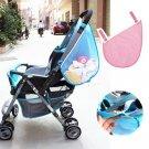 Kids Baby Stroller Pushchairs Toys Diaper Net Mesh Storage Side Bag