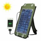 7W Solar Panel Source Power Charger For iPhone6 Smartphone Device