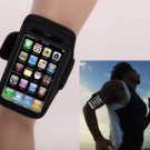 Black Sports Armband Cover Case for iPhone 4 4G 4S