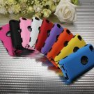 Heavy Duty Tough Impact Hybrid Hard Case Cover For iPod Touch 4