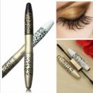 Leopard Lengthening Thicker Mascara 2 Brushes Fiber Gel