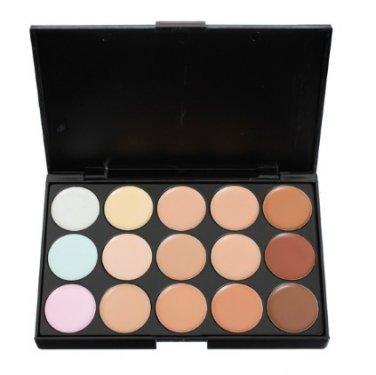 15 Colors Flawless Makeup Concealer Foundation Palette Set