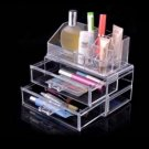 Acrylic Clear Container Make Up Case Cosmetic Storage Holder Organizer
