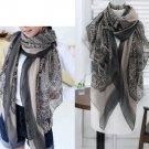 Fashion Women Cotton Print Long Scarves Shawl Large Wrap Scarf