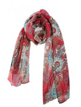 Bohemian Retro Totem Scarf Shawl Long Silk Scarves