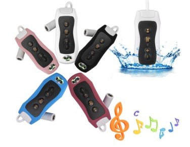 8GB IPX8 Waterproof MP3 Music Support Player FM Radio Underwater Swimming Diving Digital