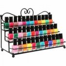 3 Tiers Nail Polish Stand Display Rack Cosmetic Makeup Organizer