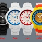 Analog Digital Silicone Band Waterproof Sport Watch