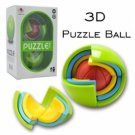 Sunlight Spherical Jigsaw 3D DIY Puzzle Ball Game Toy For Kids