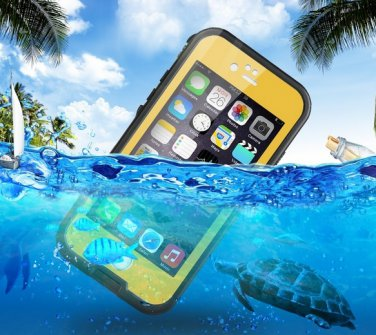 Ultra Slim Waterproof Crashproof Protective Sleeve Case For iPhone 6 5.5
