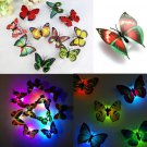 7 Colors Lovely Changing Beautiful Cute ABS Butterfly LED Night Light Lamp