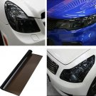 DIY Tint Auto Car Headlight Tail Fog Light Lamp Vinyl Film Sheet Cover