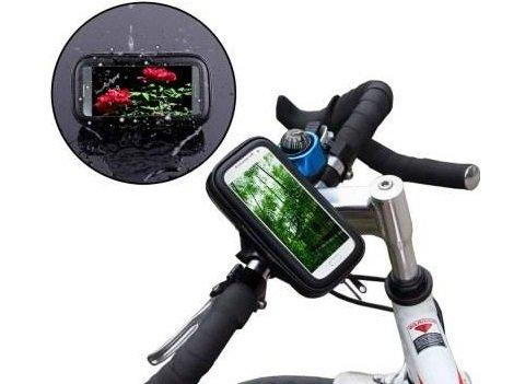 Waterproof Rotating Bicycle Bike Mount Handle Bar Holder Case For Apple iPhone