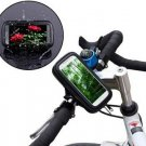 Waterproof Rotating Bicycle Bike Mount Handle Bar Holder Case For Apple iPhone