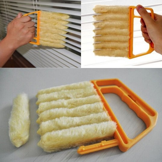 Windows Cleaning Brush Detachable Washable Shutters Brush