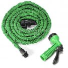 5M Car Garden Expandable Hose Reels Car Water Pipe with Sprayer EU Type