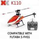 XK K110 Blash 6CH Brushless 3D6G System RC Helicopter RTF
