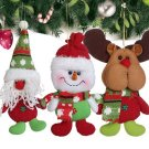 Doll Santa Claus Snawman Hanging Decoration