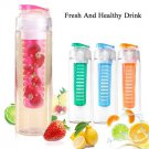 760ml Sport Fruit Infusing Infuser Water Lemon Juice Bottle BPA Free Filter