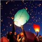 20PCS Hot Sky Balloon Fire Lantern Fly Wishing Lamp Anniversary