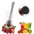 Stainless Steel Cocktail Mojito Drink Mixer Muddler