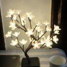 LED Flower Tree Night Light Christmas Home Desk Festival Decoration Lamp