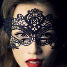 Black Hollow Lace Eye Mask Party Masquerade Mask