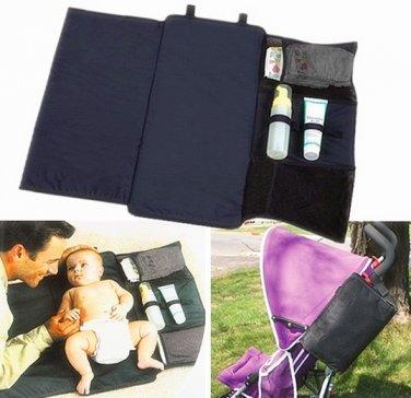 Portable Baby Diaper Mummy Bag Folding Bag Changing Mat Pouch