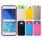 2 In 1 Hybrid Dual Layer PC+TPU Armor Case Cover For Samsung Galaxy S6