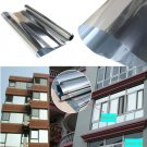 Silver Window Film One Way Mirror Insulation Stickers Solar Reflective 50cmx3m