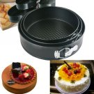 3Pcs Round Non Stick Cake Pan Bakeware Springform Tray Pan Baking Cake Mould