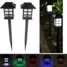2pcs Garden Solar Oriental LED Lamp Outdoor Yard Lawn Decorative Light