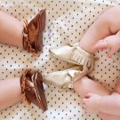 Baby Infant Toddler Tassel Leather Crib Shoes Moccasin Loafers Soft Leopard