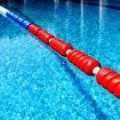 1M Spiral Shape Swimming Pool Lane Line Swimming Lane Rope Swimming Equipment Lane